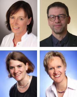 Vorstand 2018 Dr. Fenske, Dr. Hübner, Dr. Pfeil, Offen